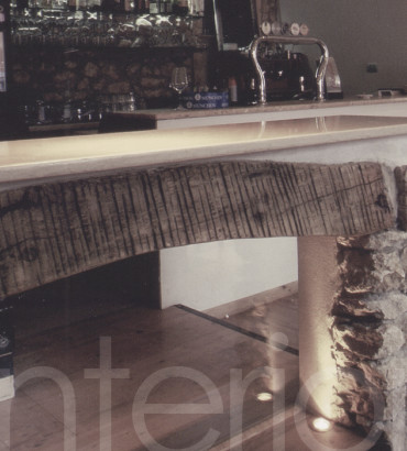 Restyling of a traditional tavern